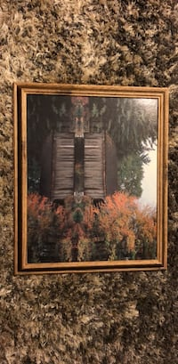 brown wooden framed painting of trees Fairfax, 22033