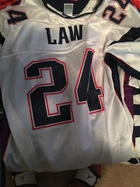 White and black nfl jersey Waxahachie, 75165