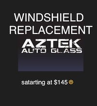 WINDSHIELD REPLACEMENT 3128 km