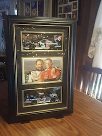 Dale Earnhardt poster with black wooden frame Cortland, 13045