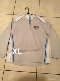 white and blue adidas zip-up jacket Brownsville, 78521