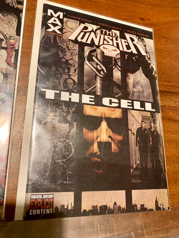 Marvel MAX Punisher Comic Collection! #1-55 (ex.29) with Specials f9fb4f37-38cf-4673-b125-ef99883577f4