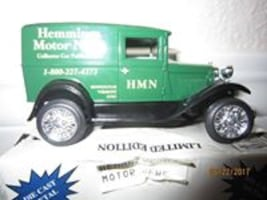 Hemming's Motor news model a panel brand new -  Liberty Classic Ford Model A Panel Delivery Hemmings Motor News 1:43 Scale NIB 1992