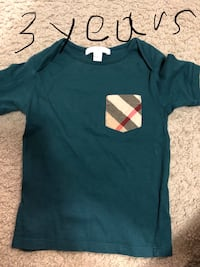 Burberry baby t-shirts