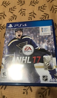 NHL 17 PS4 game case Ingleside, 60041