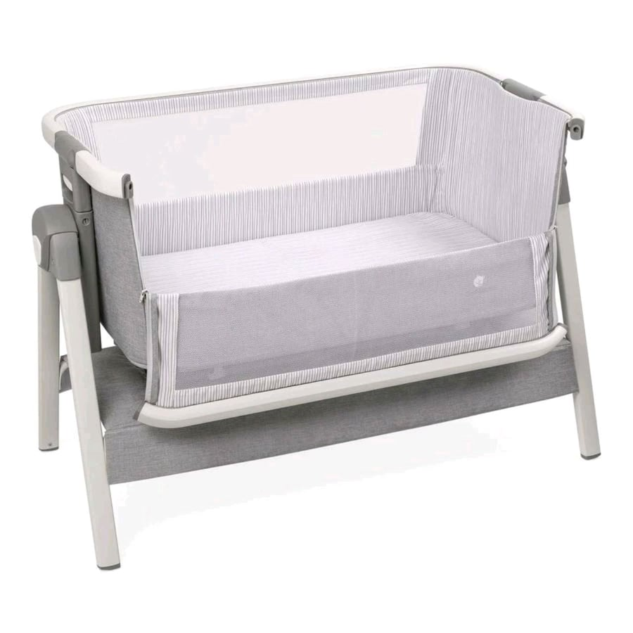 Bed Side Crib for Baby-Travel Case, Mattress, Sheet, and Urine Pad