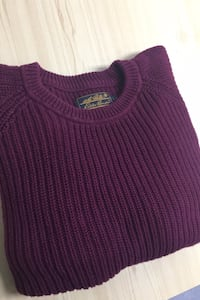 VINTAGE EDDIE BAUER KNIT SWEATER