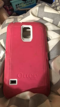 Want Gone OBO Back of the Pink and white otterbox smartphone case 552 mi