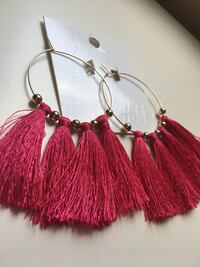 H&M tassels earrings  Brampton, L6Y 5E8