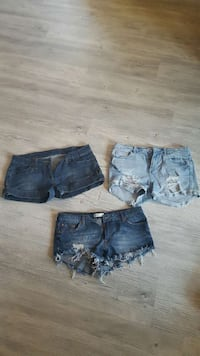 3 denim kort shorts Østre Toten, 2848