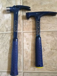 Two Estwing hammers