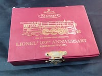 2000 Hallmark Lionel 100th Anniversary Lot 84 Contact: Debbie  [ΑΠΟΚΡΥΨΗ ΤΗΛΕΦΩΝΟΥ]  Catonsville, Md Baltimore, 21229