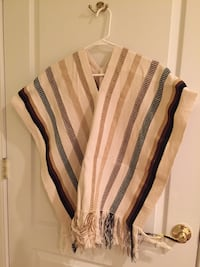 Authentic handmade Colombian poncho