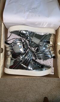 ALL SILVER SHOES SIZE 12 District Heights, 20747