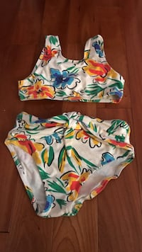 white, orange and blue floral bikini Germantown, 20876