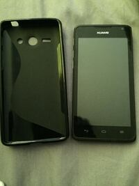 Huawei smartphone with case Aylmer, N5H 1P3