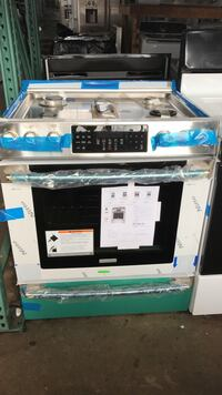 stainless steel electric stove range oven Paramus, 07652