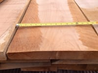 Maple 2 inch thick Kiln Dried Planed Lumber Chilliwack