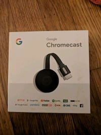 black Google Chromecast 2 box Rockville, 20850
