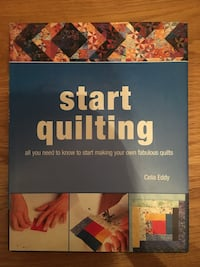 Start quilting New Book Ilford, IG4 5DP
