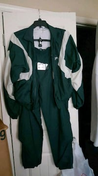 green and white zip-up jacket Greenville, 29609