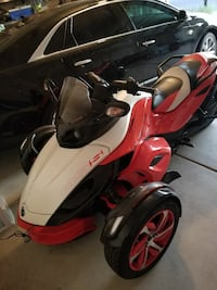 red and white RSS trike Antioch, 94509