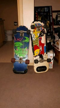 Old 80's skateboards