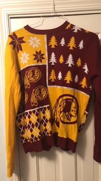 Redskins Tacky Christmas Sweater - Large Chevy Chase, 20815