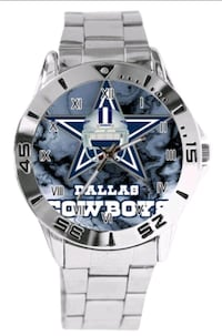 Stainless Steel Dallas Cowboys Watch Baltimore, 21224