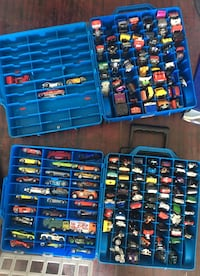 Over 200 Hot Wheels Cars and Cases Toronto, M4L 3Z8