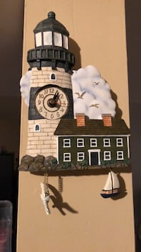 Nautical Lighthouse clock Clarksburg
