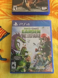 Plants vs Zombies Garden Warfare PS4 game and case  Alexandria, 22311