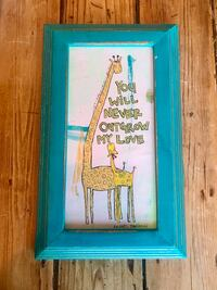 "Original Painting By Rachel Davidson-""You Will Never Outgrow My Love"" Mc Lean, 22101"