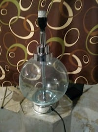 glass bubble table lamp light