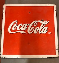 Vintage Porcelain Coca-Cola table and chairs Dallas, 75229