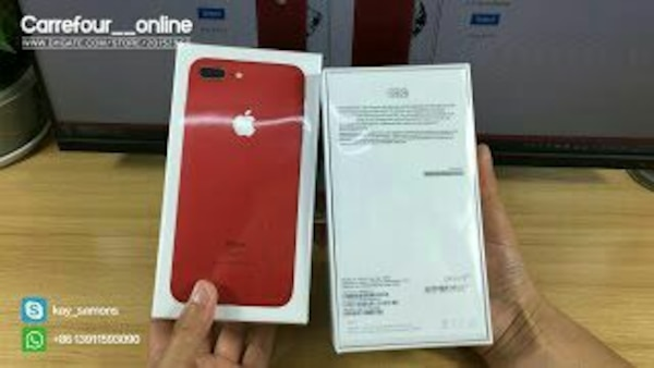 The best quality fake iphone 7 plus red edition