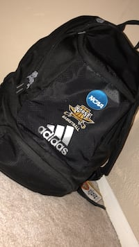 black and white Adidas backpack Highland Heights, 41076
