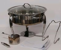 stainless steel cooking pot with lid Milton, L9E 1E9