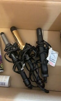 Straighter + curlers 9/10 condition Toronto, M1H 3K2