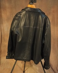 Men's Leather Jacket Pointe-Claire