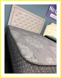 Queen Foundation with New Mattress Manassas