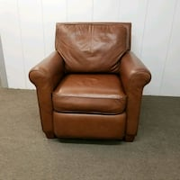 Drexel Heritage Leather Club Chair Chicago, 60614