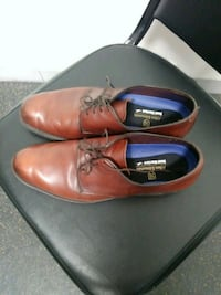 pair of brown leather dress shoes Des Moines, 50315