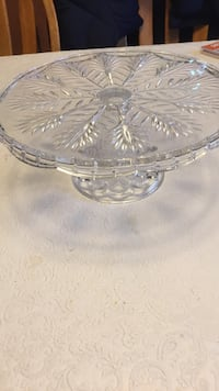 Crystal Cake Stand  Mississauga