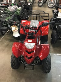 New Tao 110cc ATVs/ Quads 2345 mi