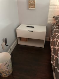 Side table for sale - Ikea has drawer and storage space!! Los Angeles, 91401