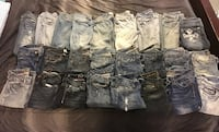 0-1 Long Women's Jeans. 5 pairs for $20. 25 pairs total to get rid of.  Rome, 30165