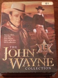 The John Wayne Collection DVD Set (5 Disc Tin Set)