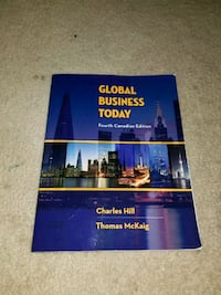 Global Business Today Textbook Vancouver, V6E 3X2