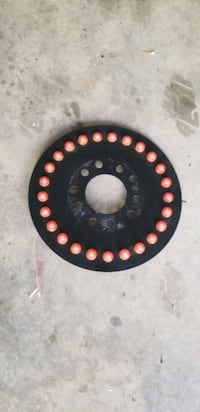 Spare tire LED break lights